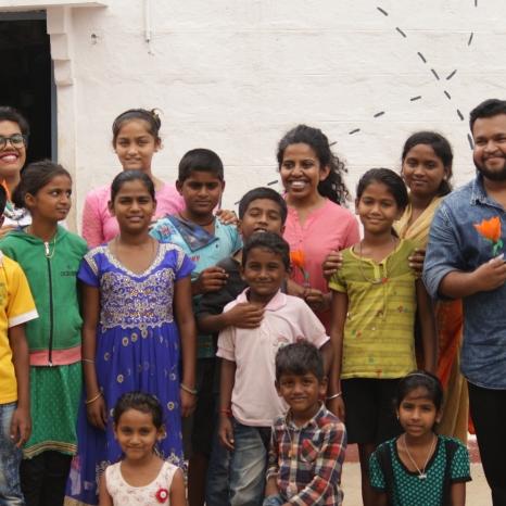 Children from Mysore